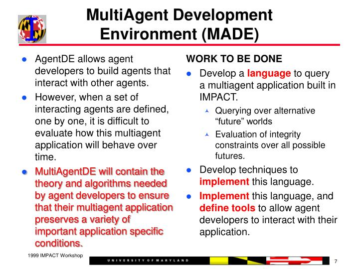 AgentDE allows agent developers to build agents that interact with other agents.
