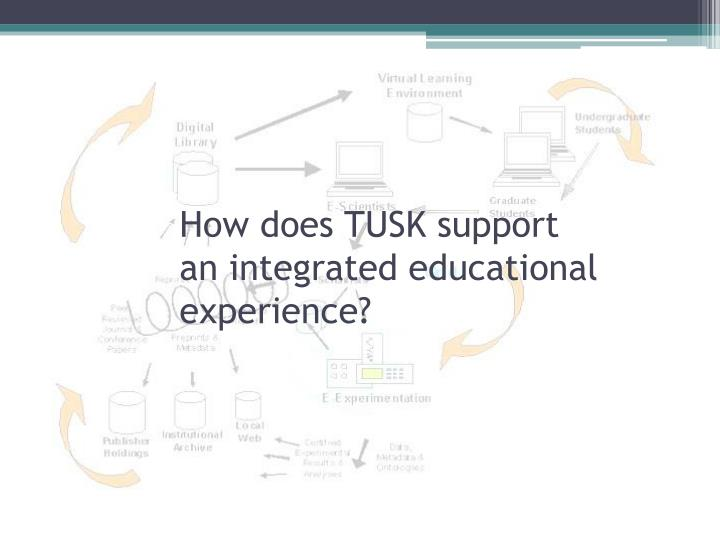 How does TUSK support