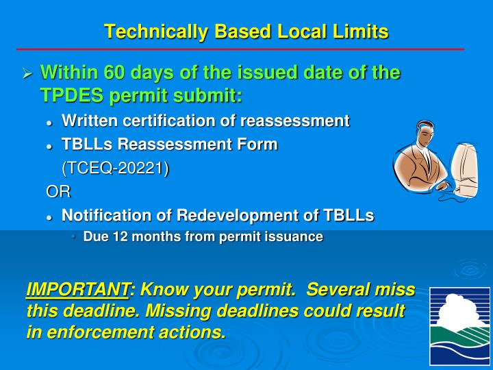 Technically Based Local Limits