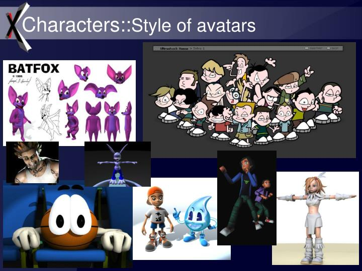 Characters::