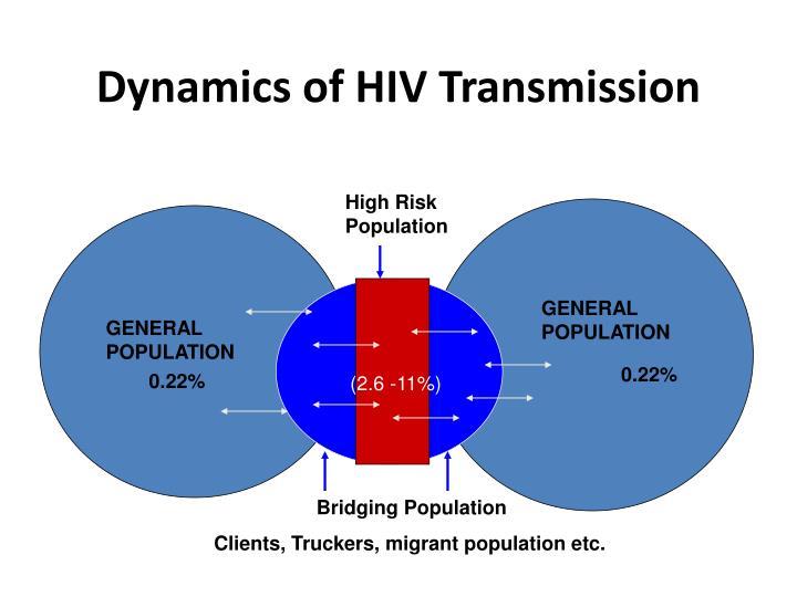 Dynamics of HIV Transmission