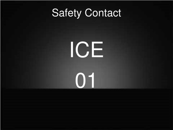 Safety contact