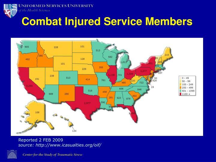Combat Injured Service Members
