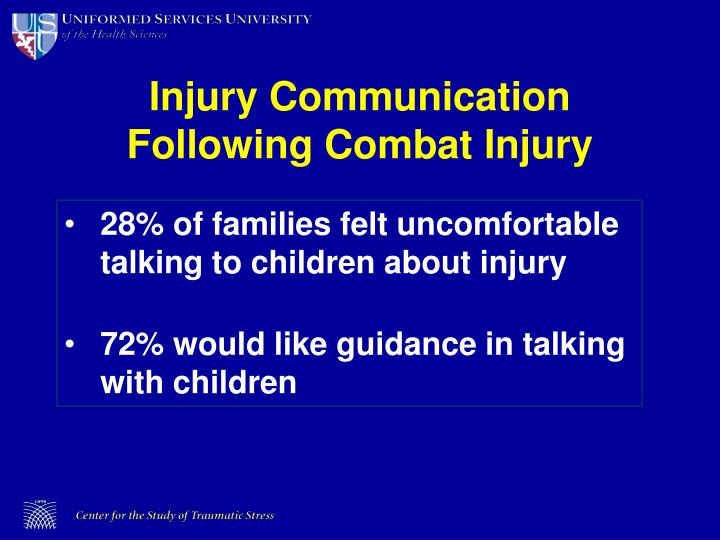 Injury Communication