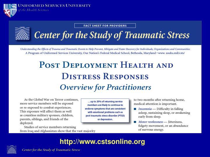 Http://www.cstsonline.org