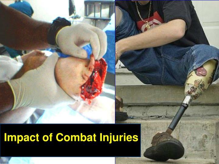 Impact of Combat Injuries