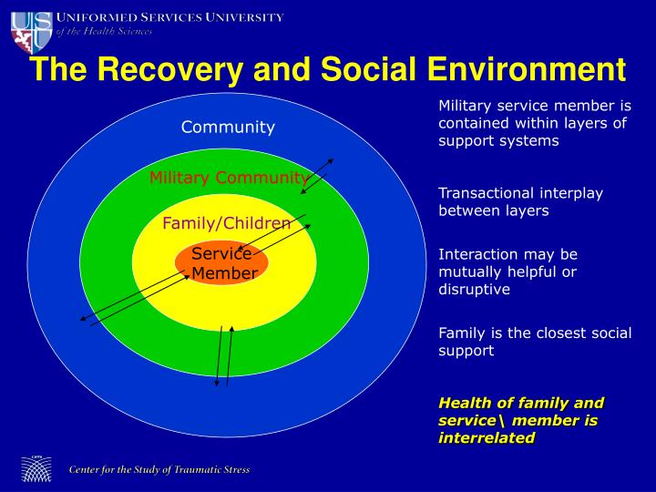 The Recovery and Social Environment