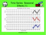 time series seasonal effects 1