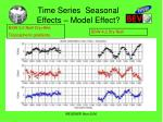 time series seasonal effects model effect