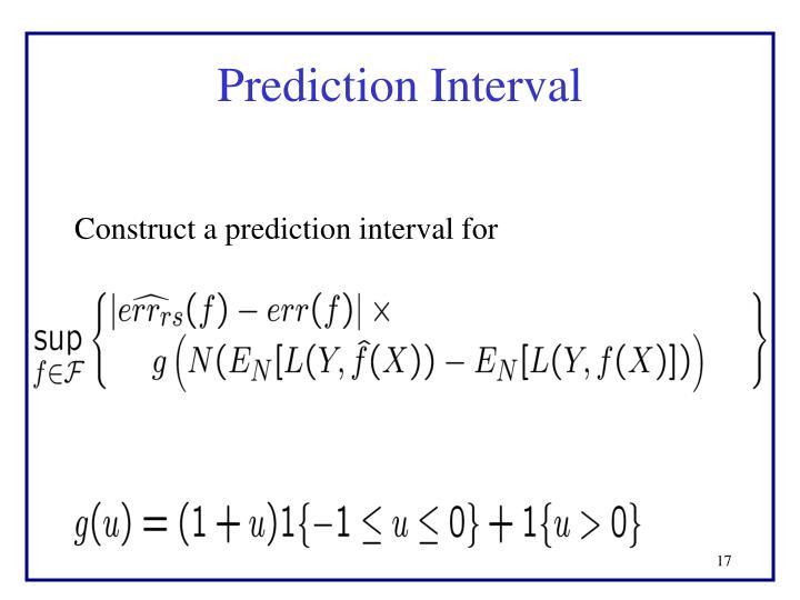 Prediction Interval
