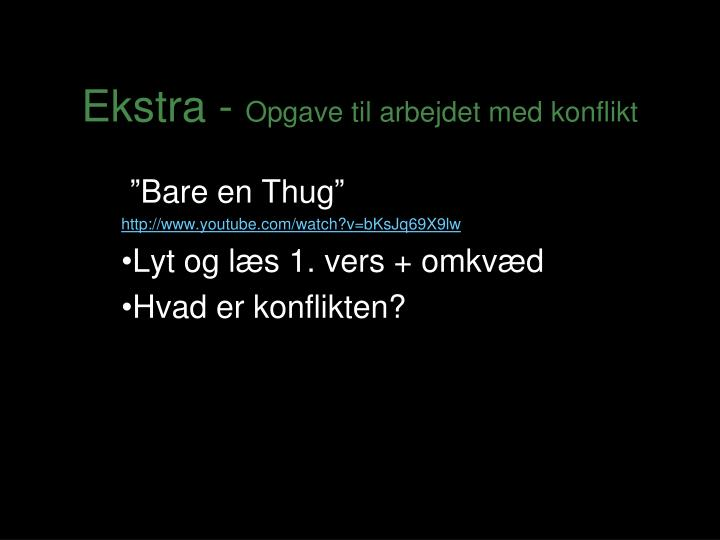 Ekstra -