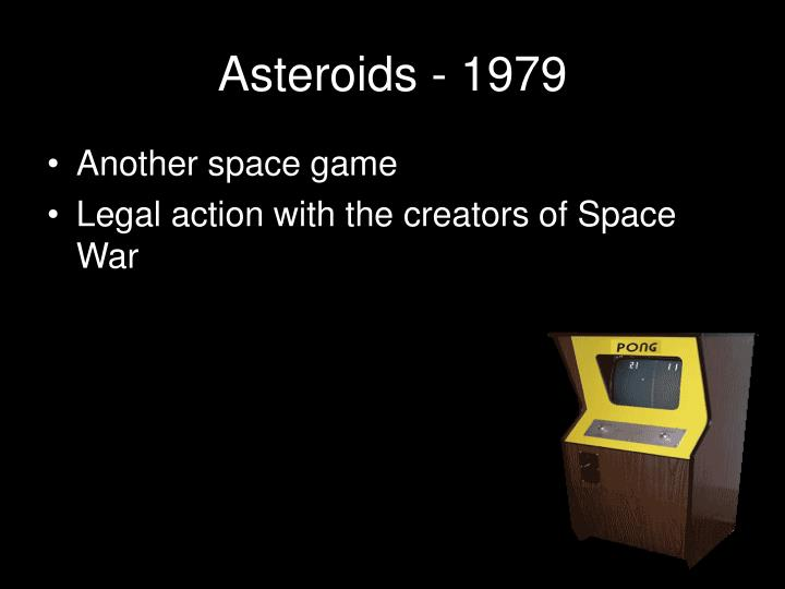 Asteroids - 1979