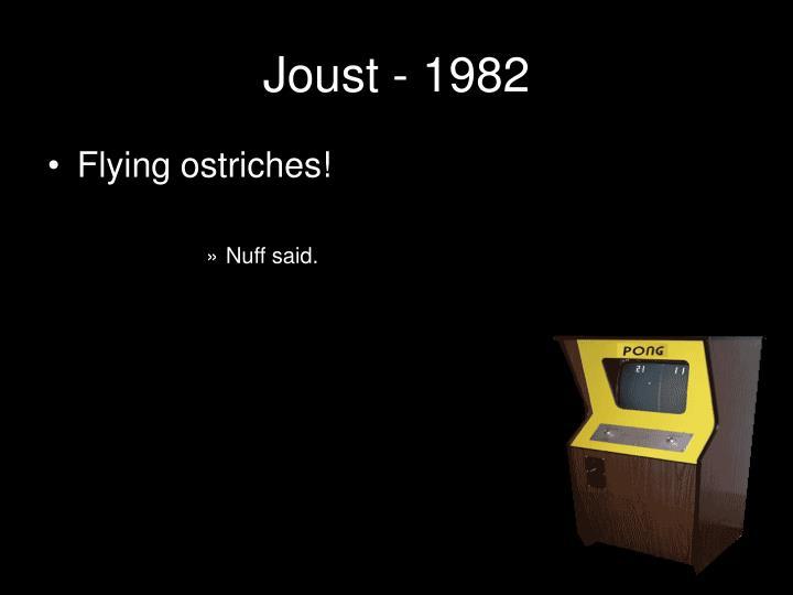 Joust - 1982