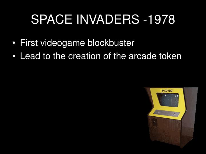 SPACE INVADERS -1978