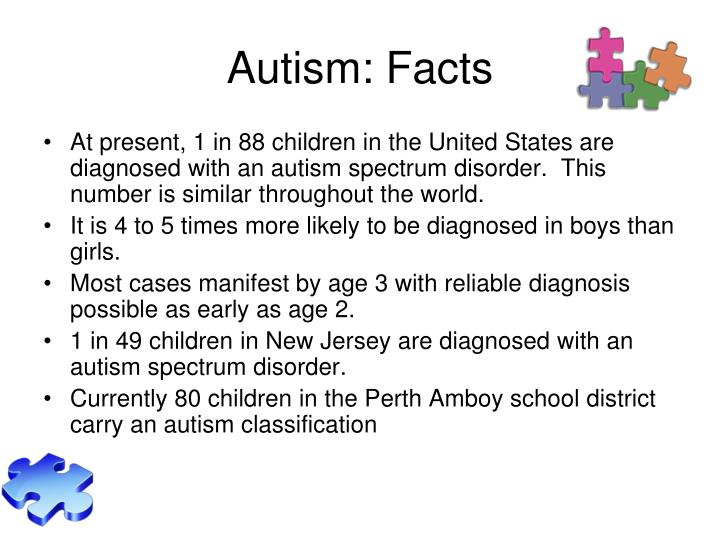 Autism facts