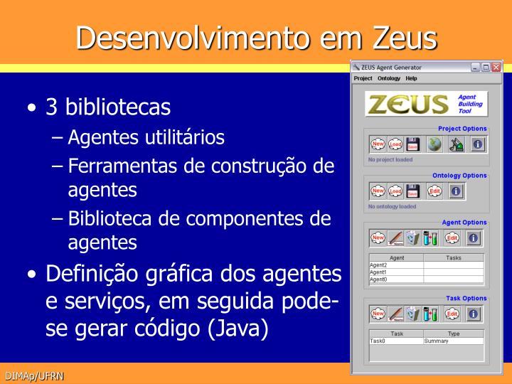 Desenvolvimento em Zeus