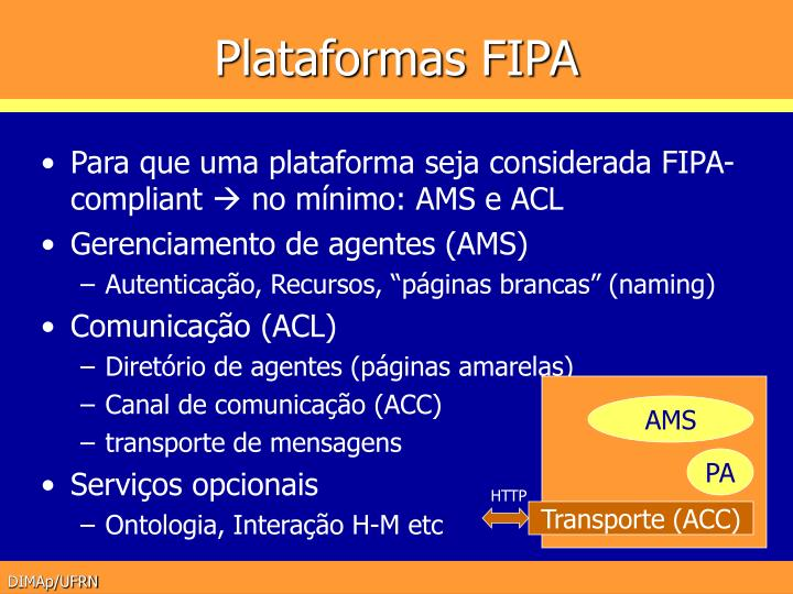 Plataformas FIPA