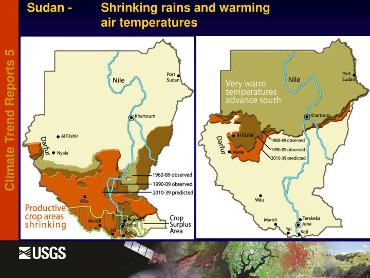 Sudan - Shrinking rains and warming