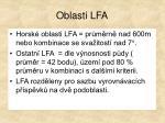 oblasti lfa