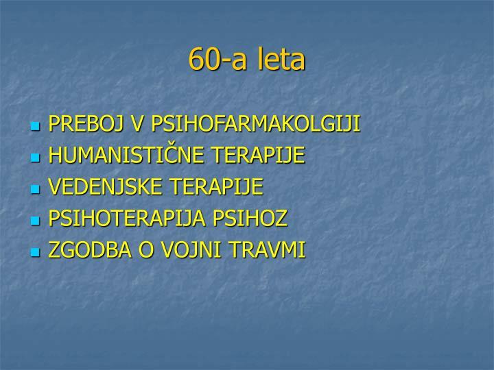 60-a leta