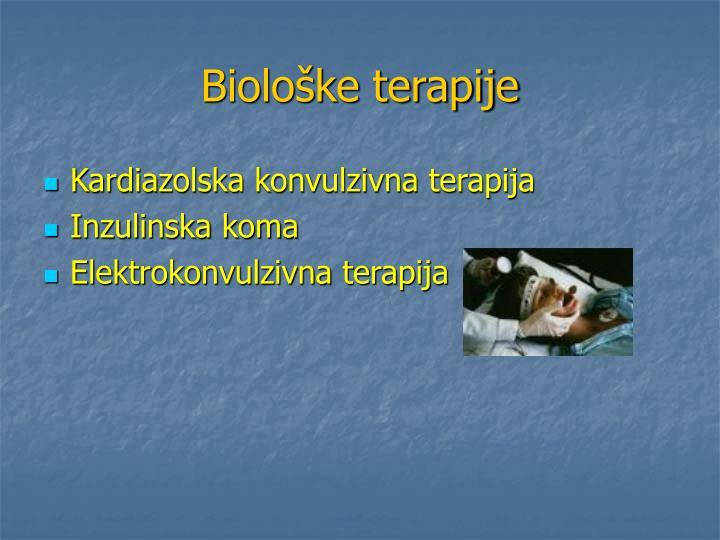 Biološke terapije