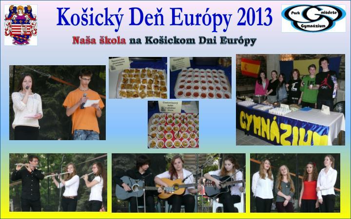Košický Deň Európy 2013