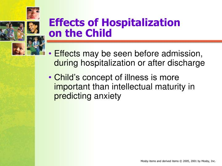 Effects of Hospitalization