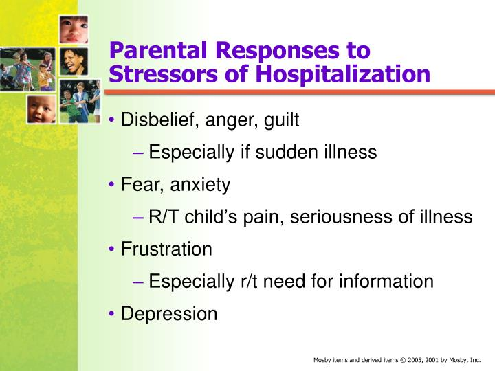 Parental Responses to Stressors of Hospitalization