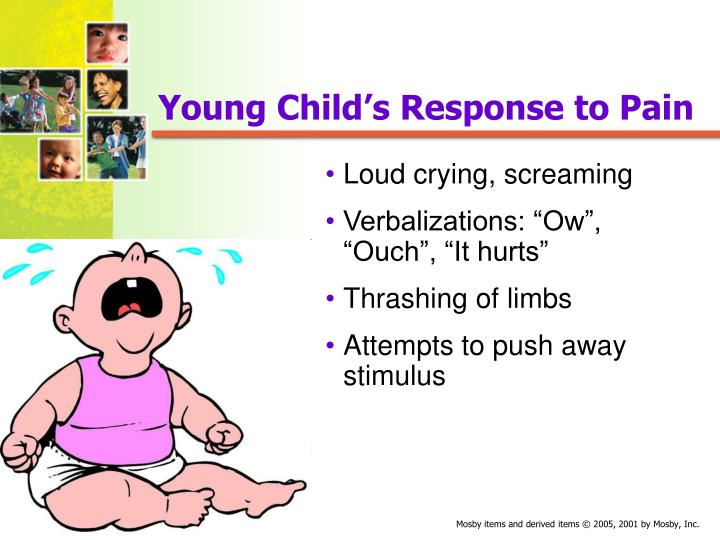 Young Child's Response to Pain