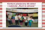 konkurs plastyczny dla dzieci i rodzic w ruch to zdrowie
