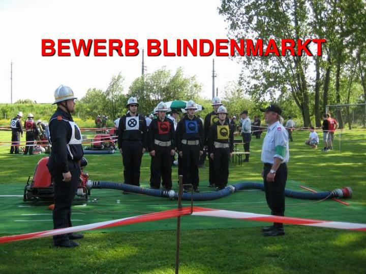 BEWERB BLINDENMARKT