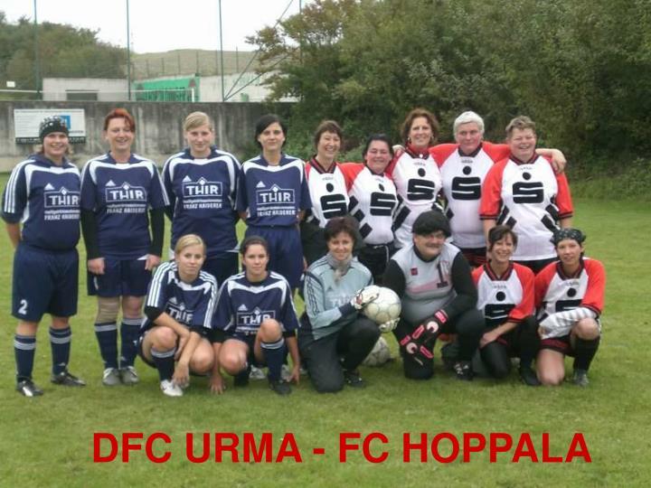 DFC URMA - FC HOPPALA