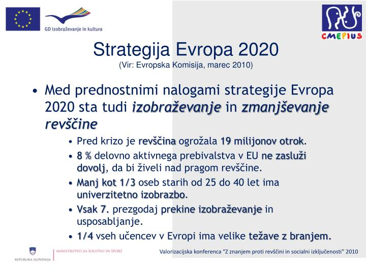 Strategija Evropa 2020