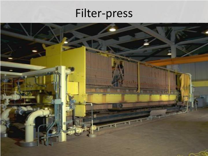 Filter-press