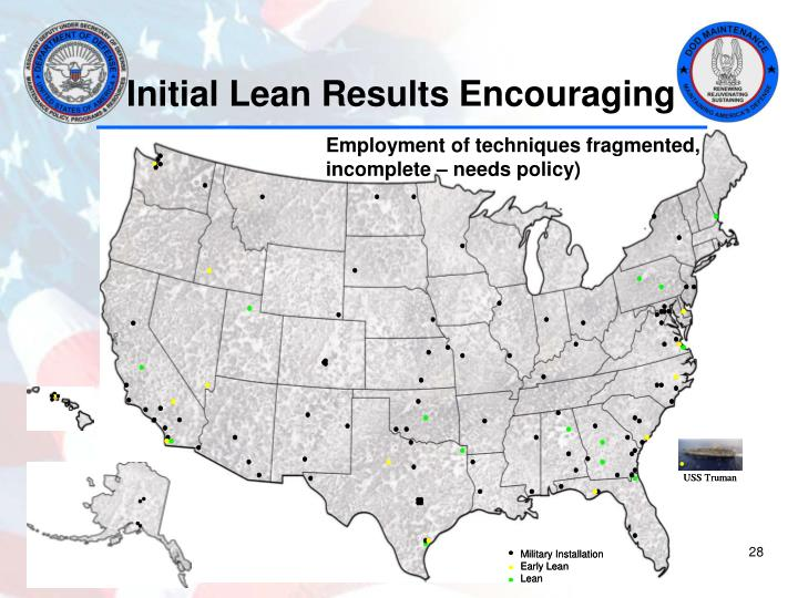 Initial Lean Results Encouraging