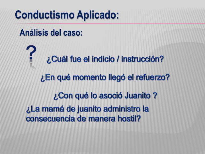 Conductismo Aplicado: