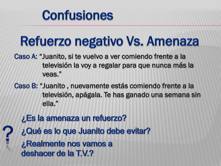 Confusiones