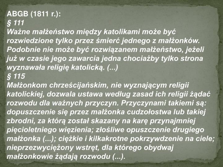 ABGB (1811 r.):