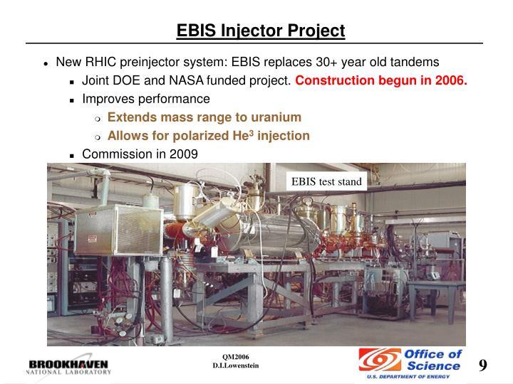 EBIS test stand