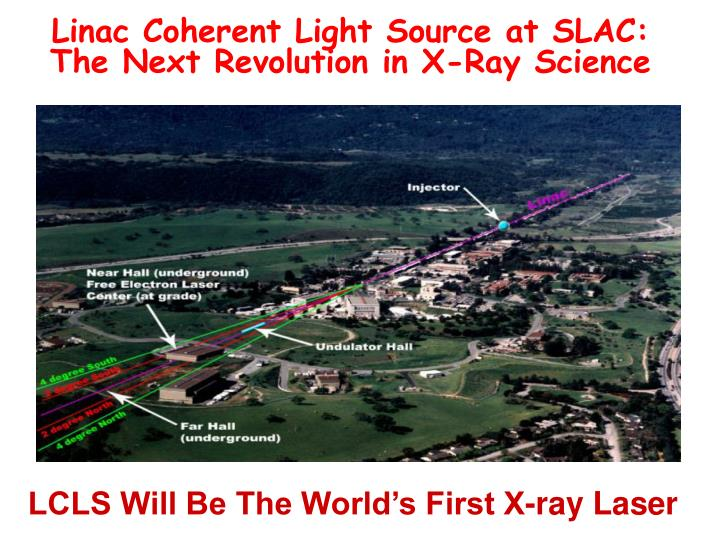 Linac Coherent Light Source at SLAC: