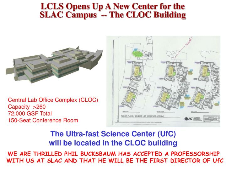 LCLS Opens Up A New Center for the