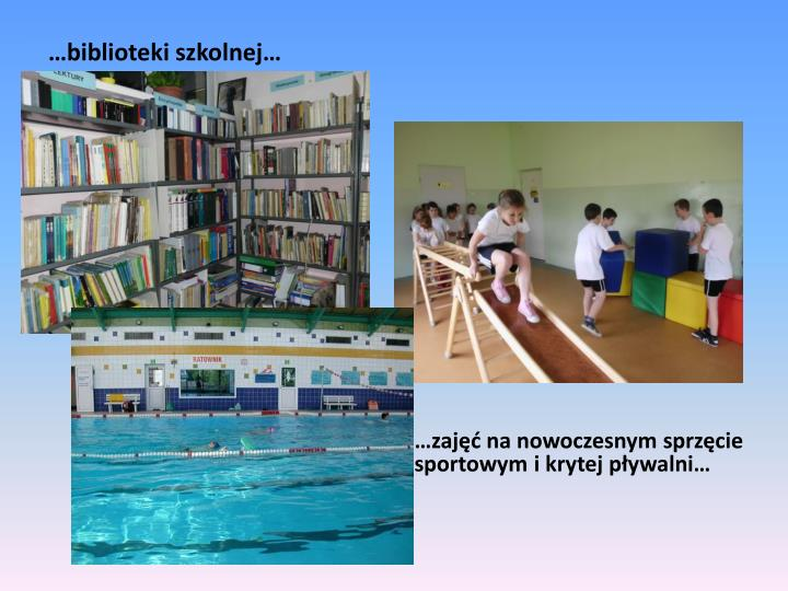 …biblioteki szkolnej…