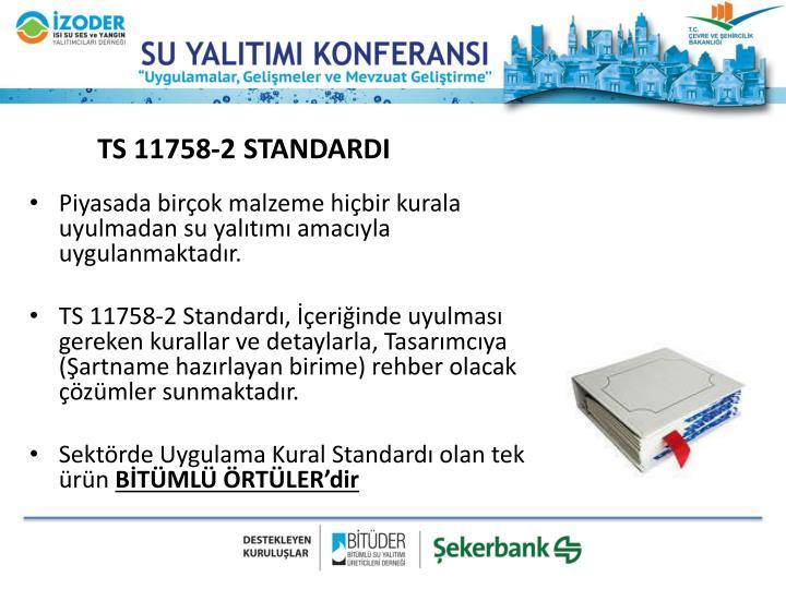 TS 11758-2 STANDARDI