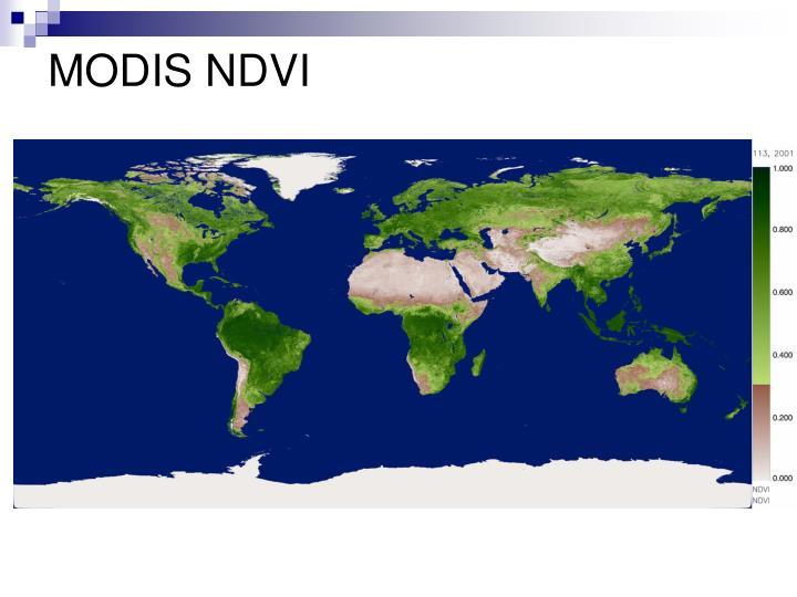 MODIS NDVI