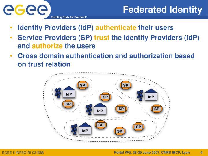 Federated Identity