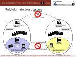 multi domain trust issues