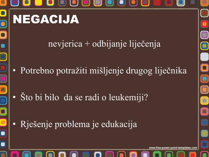 NEGACIJA