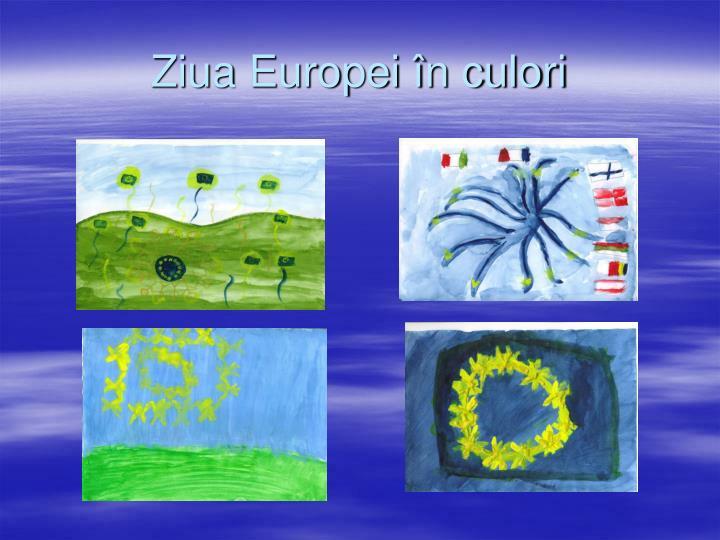 Ziua Europei în culori