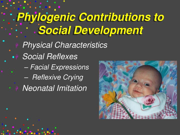 Phylogenic Contributions to Social Development
