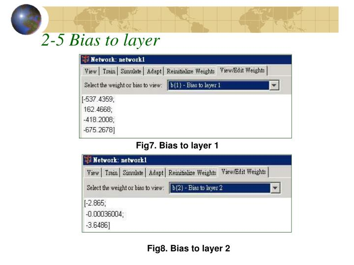 2-5 Bias to layer